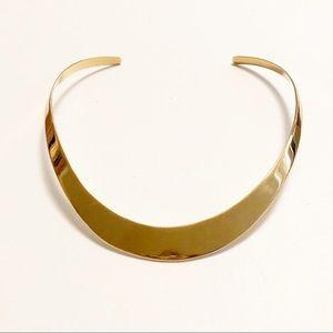Charles Albert Alchemia Gold Collar Necklace NIP